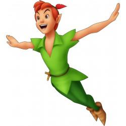 Stickers autocollant enfant Peter Pan