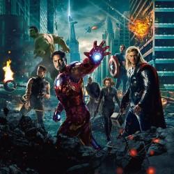 Stickers enfant géant Avengers 15167