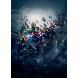 Stickers enfant géant Avengers 15169