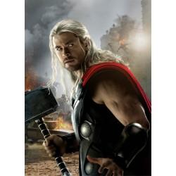 Stickers enfant géant Thor Avengers 15172