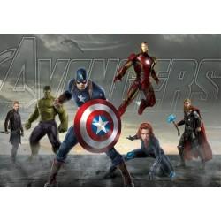 Stickers muraux géant Avengers 15164