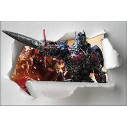 Stickers enfant papier déchiré Transformers réf 7659