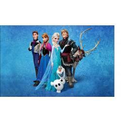 Stickers Autocollant Frozen La reine des neiges réf 15199