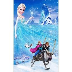 Stickers Autocollant Frozen La reine des neiges réf 15202