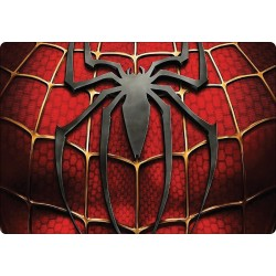 Stickers PC ordinateur portable Spiderman réf 16235