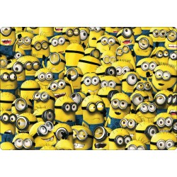 Stickers PC ordinateur portable Minions réf 16249