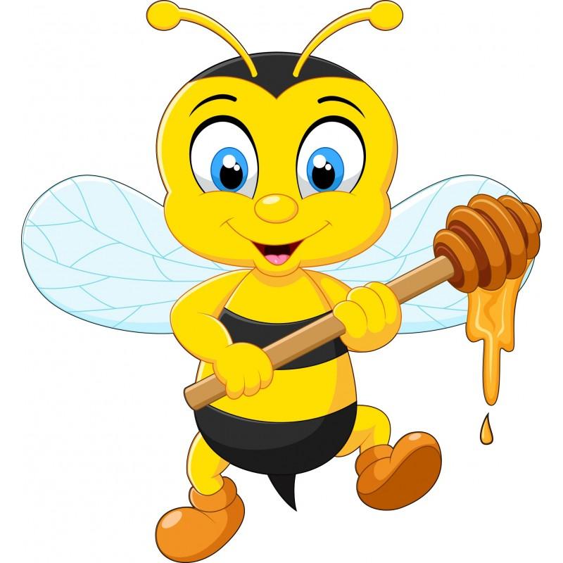 stickers muraux enfant abeille 15219 stickers muraux enfant. Black Bedroom Furniture Sets. Home Design Ideas