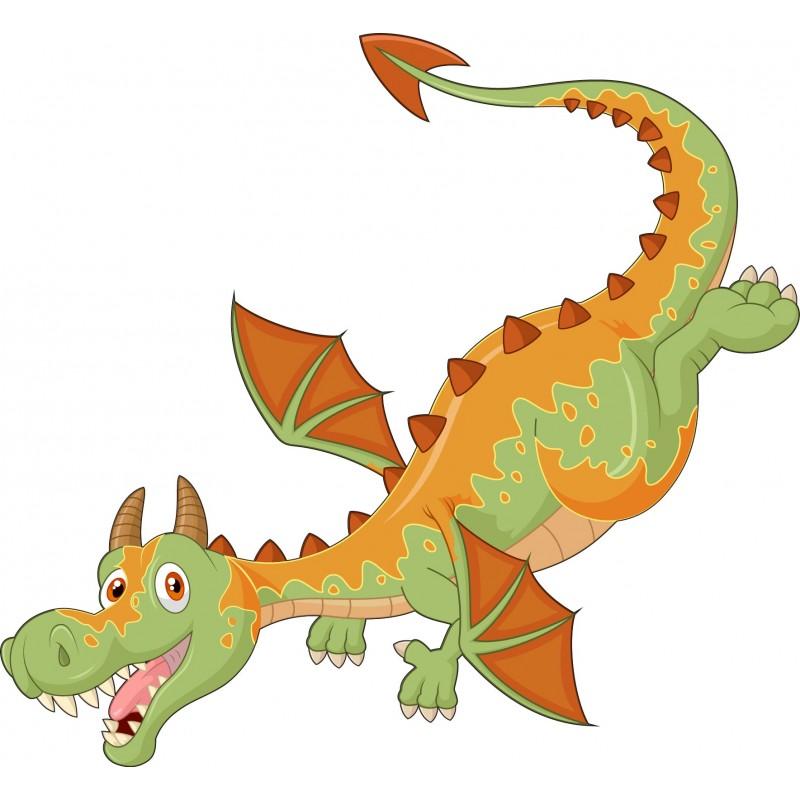 Stickers muraux enfant Dragon réf 15229 - Stickers Muraux Enfant