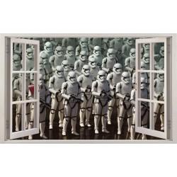 Stickers fenêtre Star Wars réf 11152