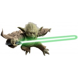 Stickers Yoda Star Wars 17660