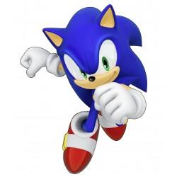 Stickers autocollant Sonic 15109