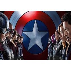 Stickers muraux géant Avengers 22578