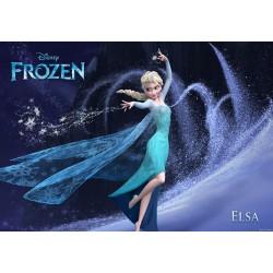 Stickers muraux géant Elsa Frozen La reine des neiges 22579