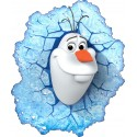 Stickers Olaf Frozen La reine des neiges 15033