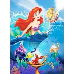 Stickers géant Princesse Ariel La Petite Sirène réf 22997
