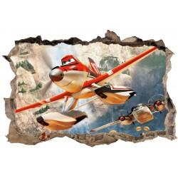 Stickers 3D Fée Planes réf 23625
