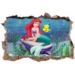 Stickers 3D Ariel réf 23631