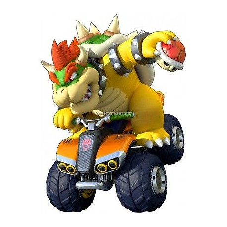 Stickers Mario Bowser 15072