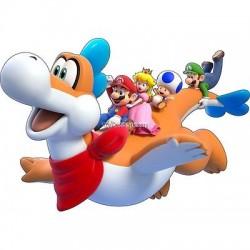 stickers autocollant Mario et ses amis réf 15031