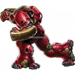 stickers Hulkbuster Iron Man Avengers réf 15016