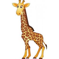 Sticker enfant Girafe réf 298