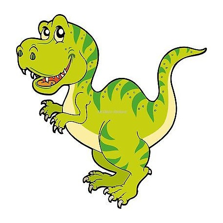 Sticker enfant Dinosaure réf 923 (Dimensions de 10 cm à 130cm de hauteur)