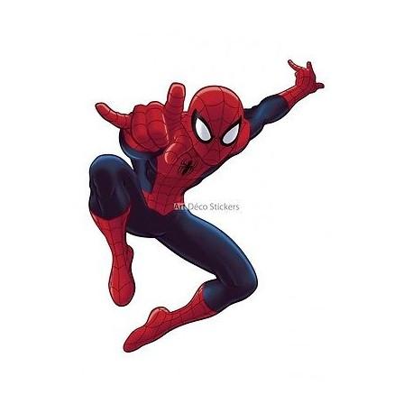 Sticker enfant Spiderman 24x30cm réf 9530