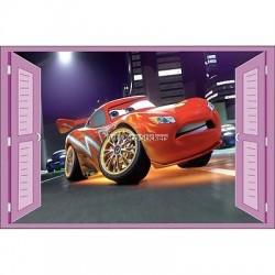 Sticker enfant fenêtre Disney Cars réf 938