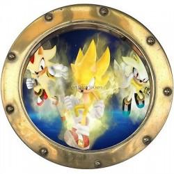 Sticker hublot enfant Dragon Ball Z 9540