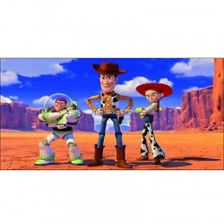 Stickers chambre d'enfant tête de lit Toy Story réf 8493