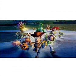 Stickers chambre d'enfant tête de lit Toy Story réf 8492