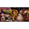 Stickers chambre d'enfant tête de lit Madagascar réf 8481