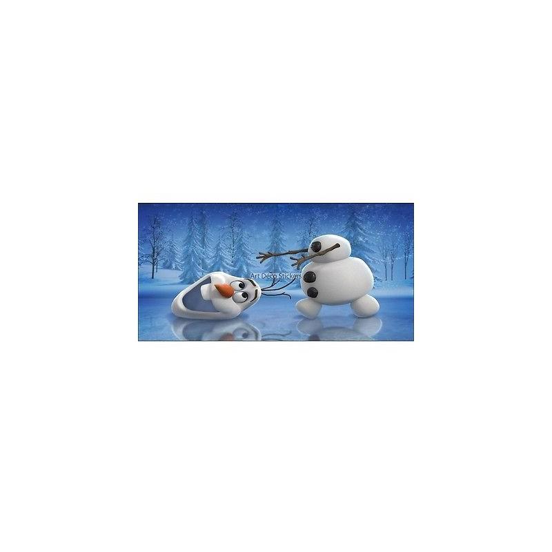 stickers chambre d 39 enfant t te de lit la reine des neiges r f 8475 stickers muraux enfant. Black Bedroom Furniture Sets. Home Design Ideas
