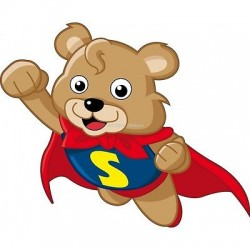 Sticker enfant Super nounours 930