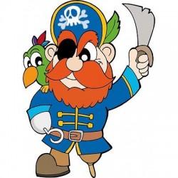 Sticker enfant Pirate, sticker mural chambre enfant E657
