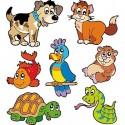 Sticker enfant, stickers animaux E656