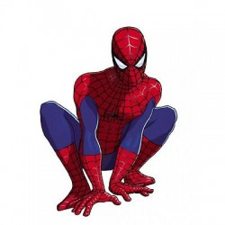 Stickers enfant Spiderman spiderma