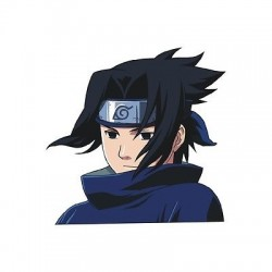 sticker Autocollant enfant sasuke E92