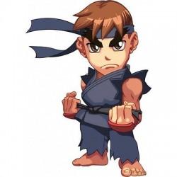 sticker Autocollant enfant Ryu E91
