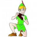sticker Autocollant enfant Peter Pan E080