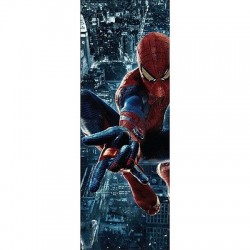 Papier peint porte enfant Spiderman 717