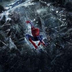 Papier peint enfant géant Spiderman 3210