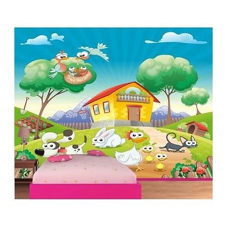 Stickers animaux de la ferme - TenStickers
