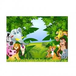 Papier peint enfant géant Animaux 2011