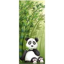 Sticker enfant porte Panda réf 1732