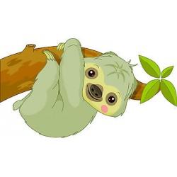 Stickers muraux enfant Koala réf 3539 (Dimensions de 10 cm à 130cm de largeur)