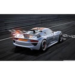 Sticker autocollant auto voiture Porsche 918 A253