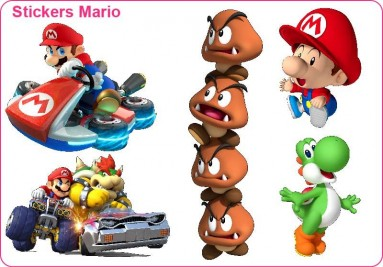 Stickers Mario