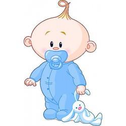 Sticker enfant Bébé garçon réf 2526