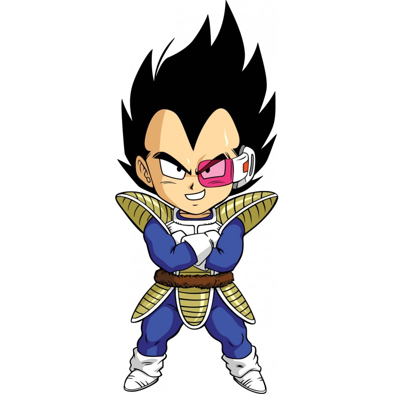 Stickers dragon ball z dbz 15124 stickers muraux enfant for Chambre dragon ball z